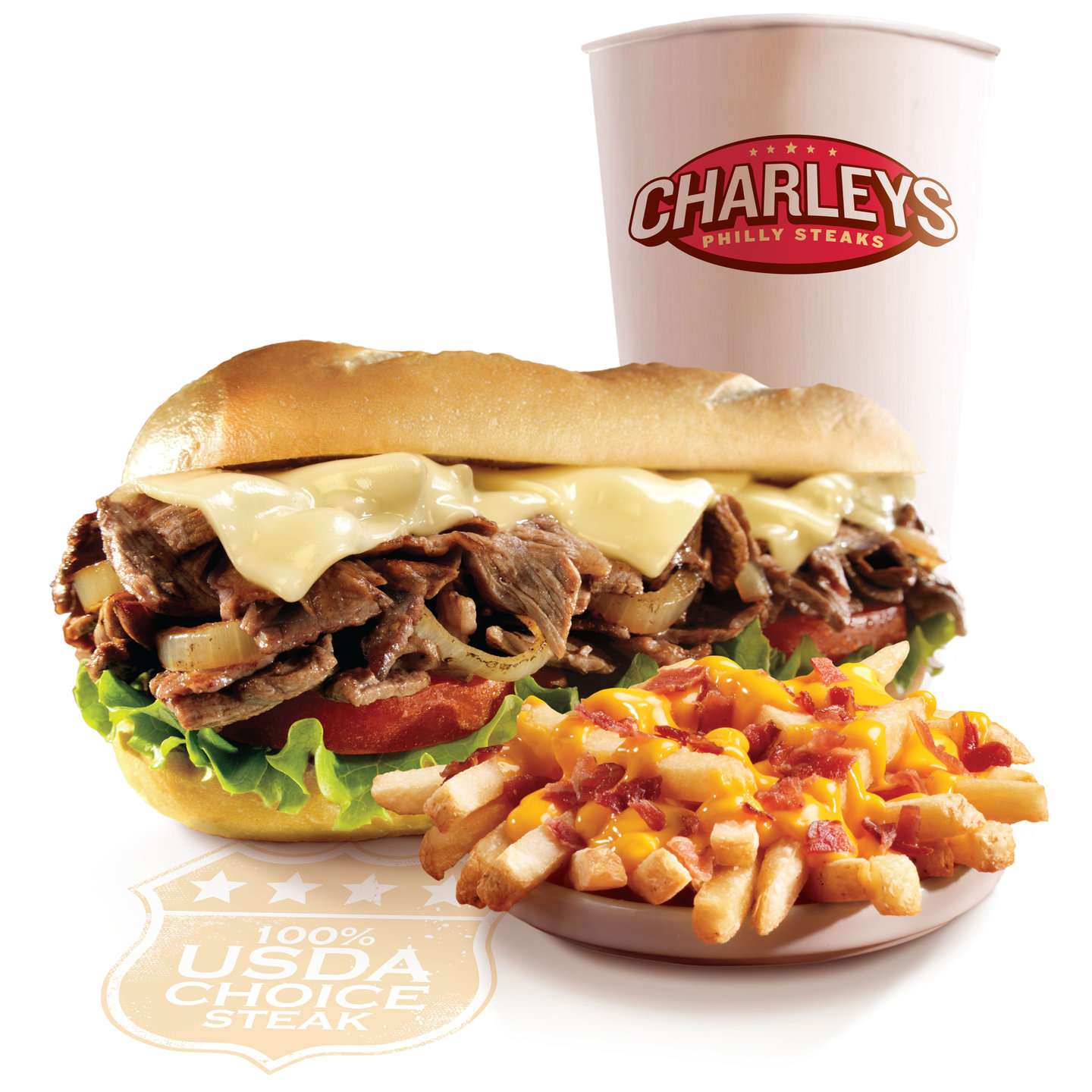 Charleys Philly Steaks Monroe Waitr Food Delivery In Monroe La